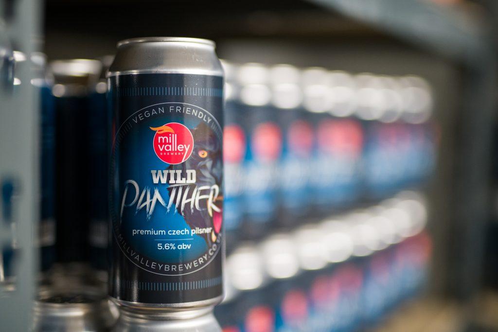 Wild Panther in Beer Shop