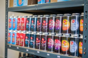 Cans in Beer Shop