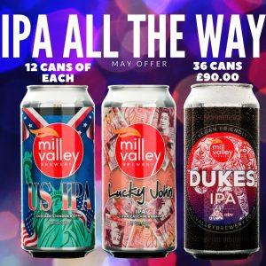 US IPA, Lucky John and Dukes IPA
